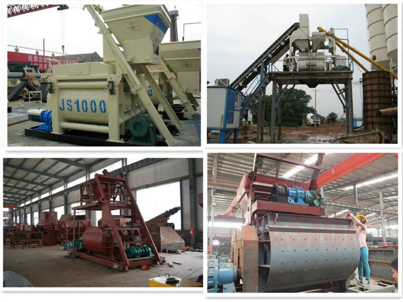 Pioneer beton mix JS1000 concrete mixer machine Jakarta