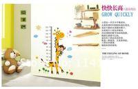 Жираф высота стены стикеры /kids стены наклейки декоративной живописи фон обои