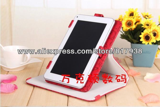 97  armix pad - 920 pad - 915 evromedia playpad m506 ampe a90 симпатичные фея вращающийся кожаный чехол + стилус + film бесплатный shpping