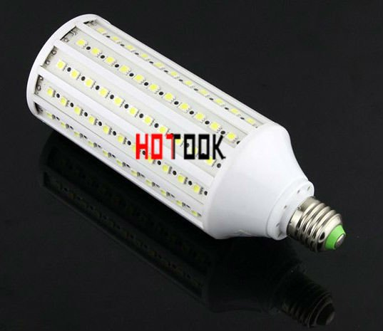 Dropship 33w E27 (E14) 5050 SMD 165 LEDs LED Corn Light Bulb Lighting  220V ( 110v ) Warranty 2 years CE ROHS -- free shipping