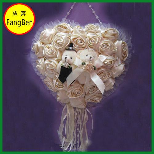 Wedding Heart Shape Artificial Flowers(FB013898)