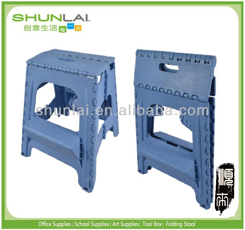2-step molded plastic stool 3