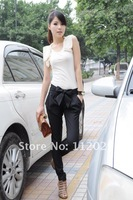 Free Shipping Hot sale Free shipping LADIES' fashion pants,Bowknot haroun pants