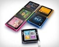 6-ого поколения 32 ГБ 1,8-дюймовый сенсорный экран клип mp3 mp4-плеер + розничной упаковке