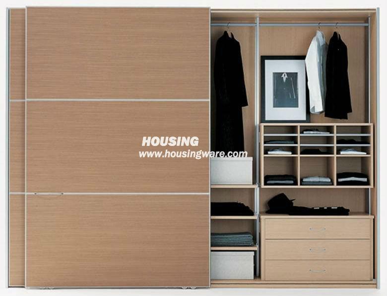 Image armario de madera modernos baratos puerta corredera download - Modern tuinmodel ...
