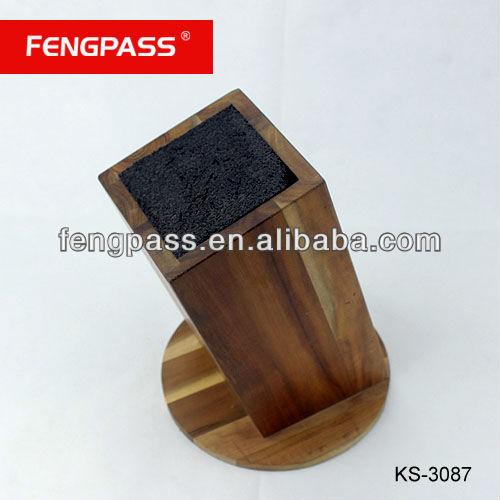 Universal high quality knife block set (389-503-554)