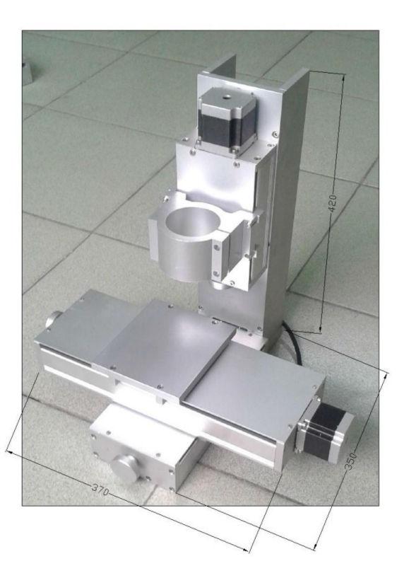 High-precisely Ball Screw Shaft, 250mm Stroke Linear Slider Rail Guide for CNC Machine