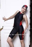 бренд работа супер элита женской гонки Купальники черные заклинание красный 502028