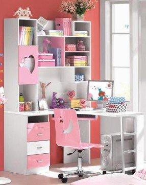 rosa melocotn corazn libro los nios escritorio