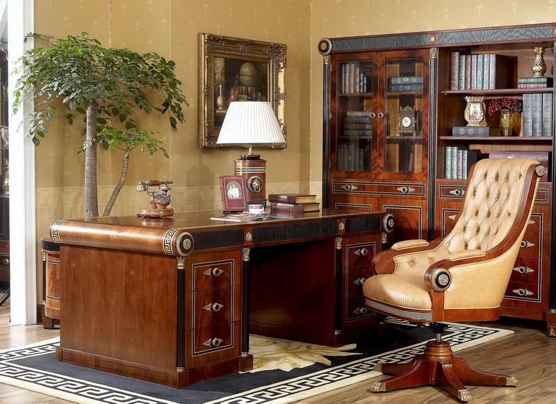 0010 Spain Design Classic Study Room Furniture Sets