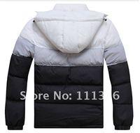Мужские зимние куртки, Новая зимняя спортивная мода вниз Пальто мужские, мужские пуховики куртка, размер: l-xxxxl