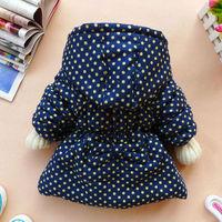 Пуховик для девочек Latest Baby Girls Kids Toddler Clothes Cotton Coat Winter Jacket Snowsuit 2 4Y