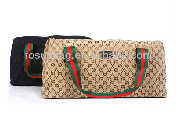 Ladies canvas suitcases and travel bags