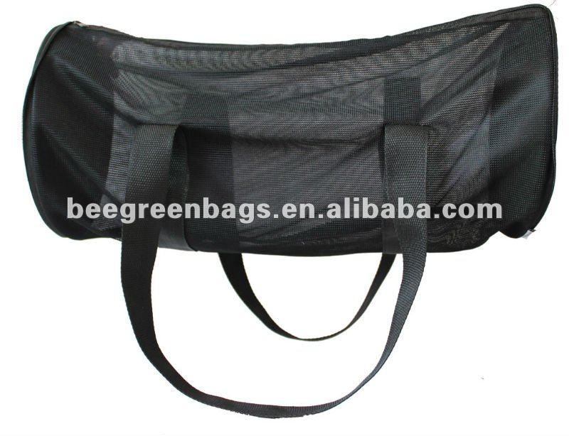 Foldable Nylon Mesh Barrel Promotional Bag