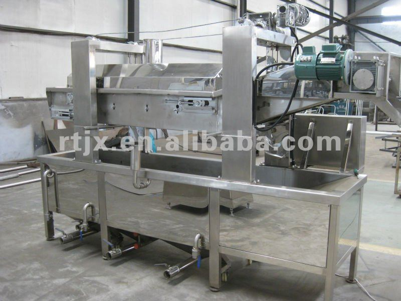 Fully automatic Potato chips continuous frying machine