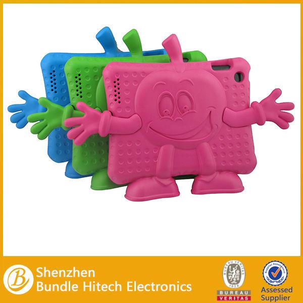 Cute Childern Kids Shockproof Foam Stand EVA Case for ipad 2 3 4