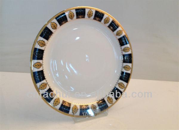 7.5 inch porcelain bulk dinner plates