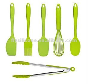 Names Of Kitchen Utensils Set High Quality Pack Of 6pcs Silicone