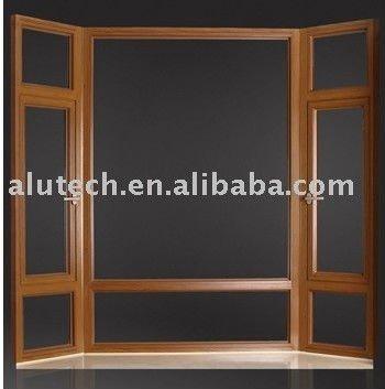 Aluminium profile bay windows standard size aluminium door for Window and door companies near me