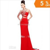 Камила Алвес суета ярмарка Оскар знаменитости платья с открытой задней аппликация Зухаир Мурад короткими рукавами красный ковер вечерние платья