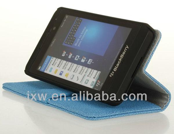 Color Case For Blackberry Z10 With Card Holder Slots