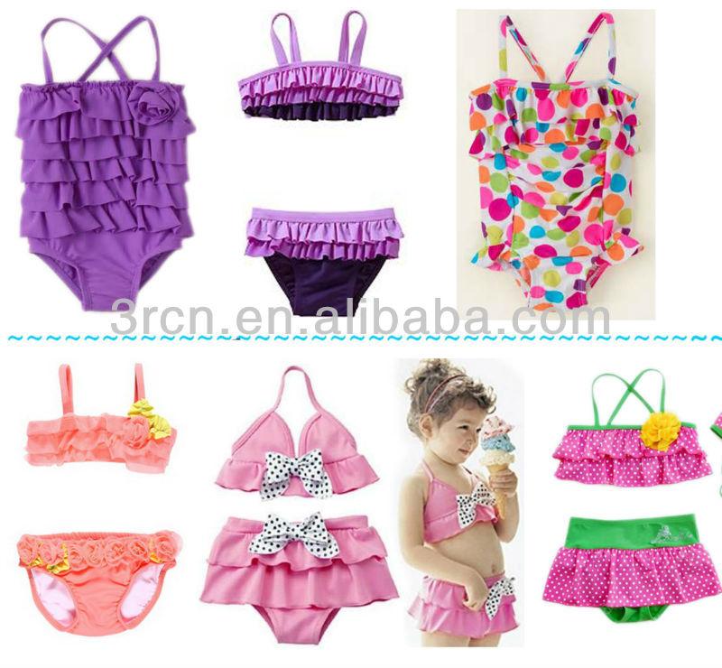 Imagenes De Trajes De Baño Para Nina:2014 Moda niños niñas traje de baño