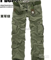 HOT CASUAL MILITARY ARMY CARGO CAMO COMBAT WORK PANTS TROUSERS Cargo Pants SIZE 28-38 2429