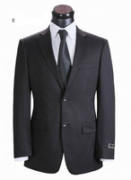 Top quality hot sale men business suits formal dress suit 100% wool  size XS-5XL