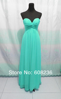 Платье знаменитостей Customized - Evening Dress Prom Gown Bridesmaid Dress in movie 'Maid In Manhattan' Made of Chiffon