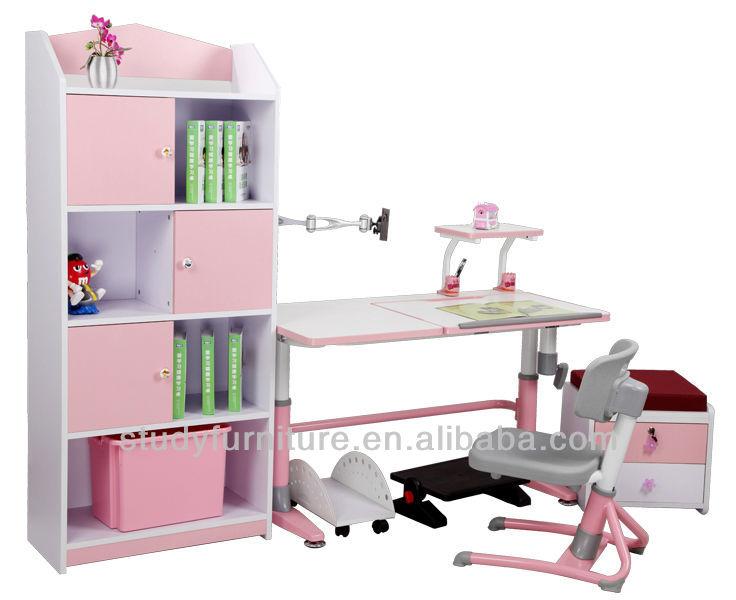 E1 estándar MDF niños de madera gabinete