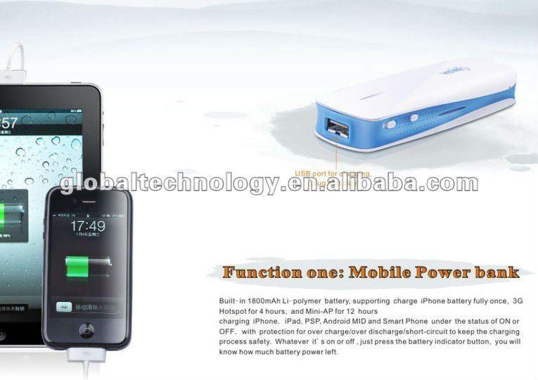 1800mAh Hame MPR-A1 3G Mini Router