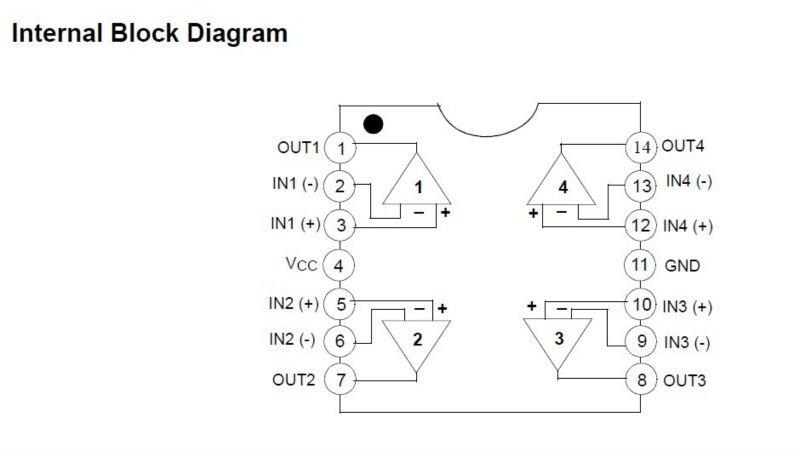 Lm324 - quad операционный