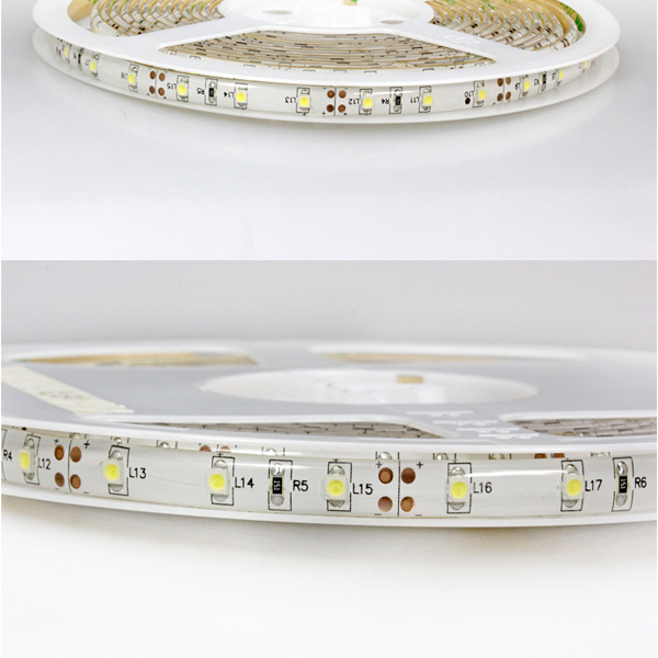 Shenzhen factory smd 3528 led strip IP65 waterproof 60leds/m led strip 3528 24V led strip light of Greethink