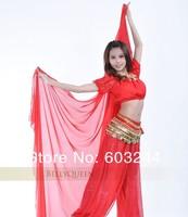 Бесплатный dhl fedex 30pcs 240 * 120 см индийский стиль шифон танца живота голова Фата аксессуар оголовье платок