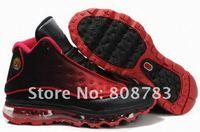 Мужская обувь для баскетбола sports shoes 2011 NEW style black/red high quality Men's Basketball shoes Fashion sneaker running shoes code 37