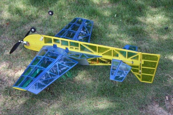 Balsa 3d plane plans