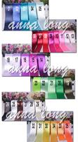 Лента для одежды 38mm single face Satin Ribbon 100yds Multicolor webbing decoration with 35 Colors for option