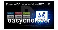 Телеприставка Measy X 5 3D Android HD USB RTD1186 + RC12 016430