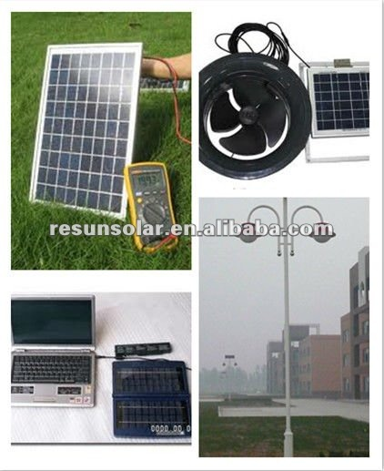 50W mono import solar panels for industrial and commercial application