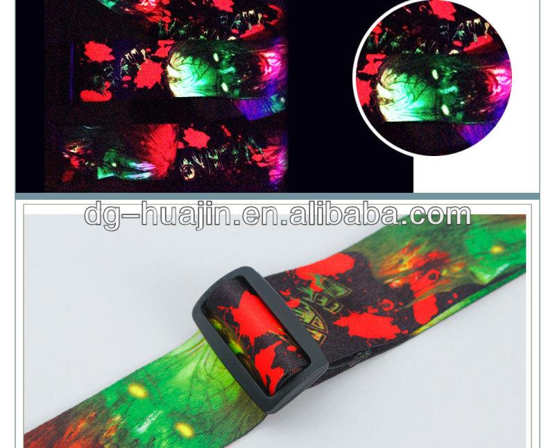 2014 luminous guitar strap ,Suit for concer t ,Rock Music Concert ...