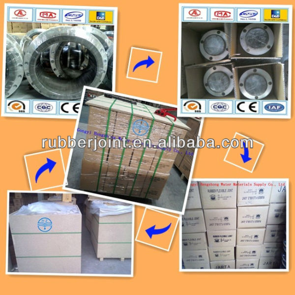 Professional manufacturer JGD rubber expansion joints