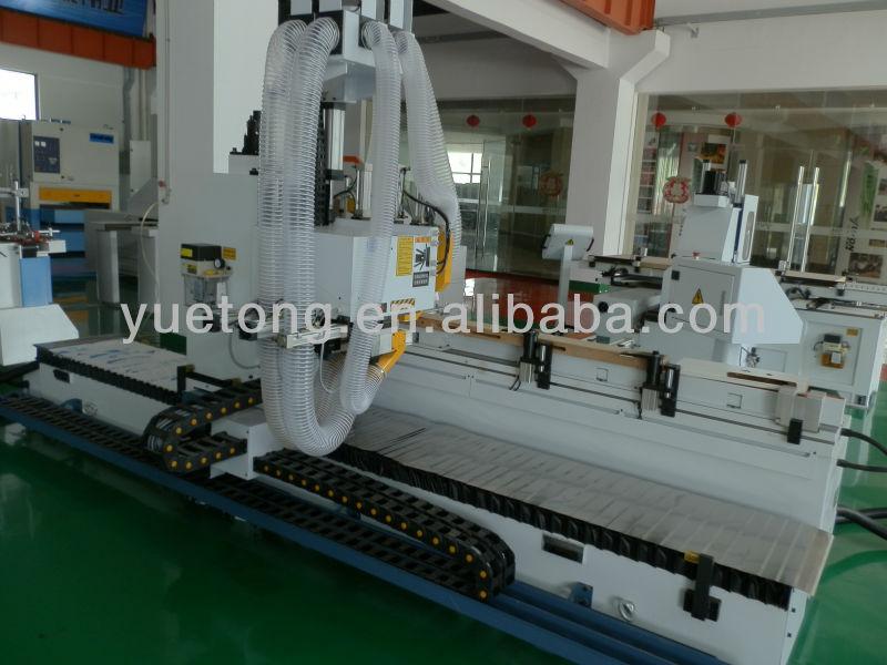 CNC wood door frame lock & hinge hole boring machine MDK4130A