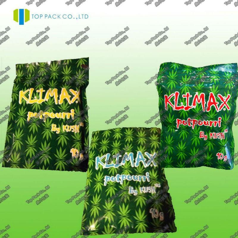 Kush incense bags