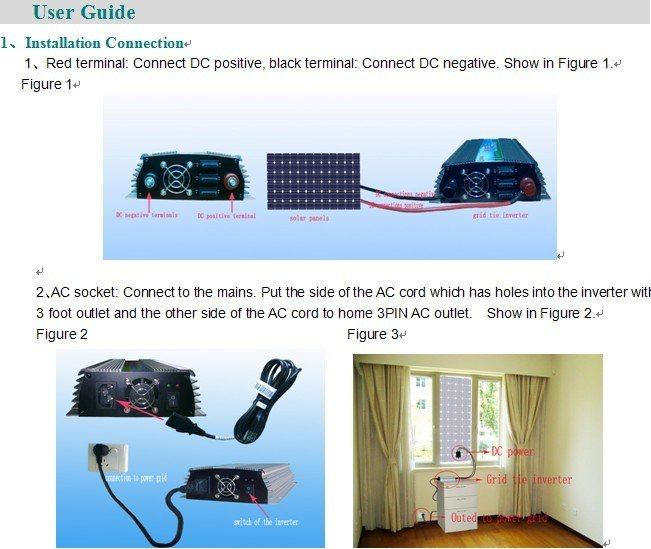 Fedex freeshipping! 200W Grid Tie Inverter for solar panel, Pure sine wave Power Inverter