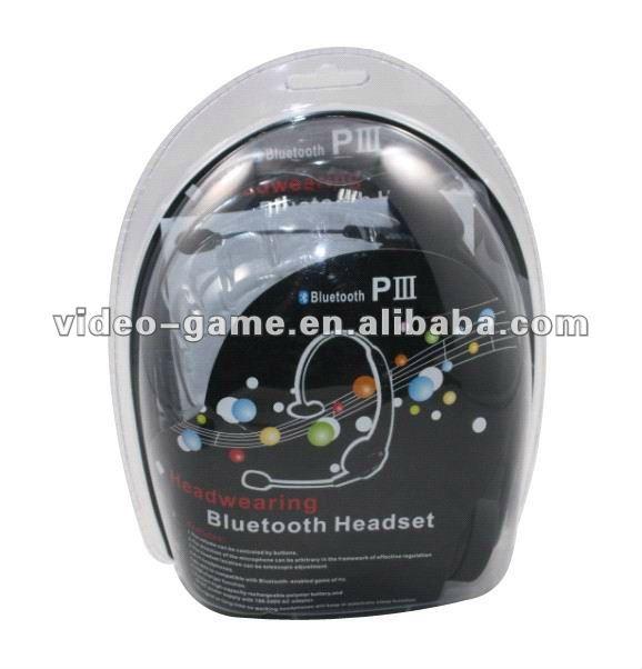 DJ Sem Fio bt 3.0 com microfone Headband 10 metros intervalos personalizados em estoque
