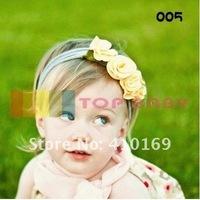 Детский аксессуар для волос New TOP BABY Girls Hairband Baby Hair Band Baby Girl's Flower Headbands Children s Hair Accessory, 50 Piece