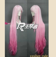 Guilty Crown ,110cm Fusion pink long straight cosplay cos wig,Party Synthetic Hair,Have stock,free shipping