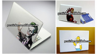 Чехол для ноутбука 2013 New Design Simpson Sticker Stickers Decals for MacBook Decal Sticker Skin for Apple