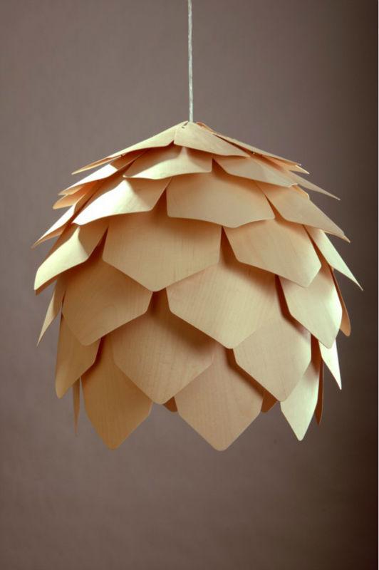 Lustre Bois Pas Cher : Wooden Ceiling Light Fixtures