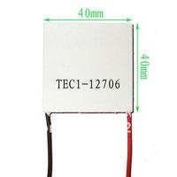 5pcs/лот tec1-12706 термоэлектрического охладителя Пельтье 12v 6a мощных термоэлектрического охлаждения модуля tec модуль 40x40cm